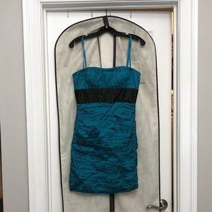 Turquoise BCBG Mini Dress